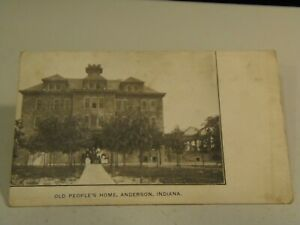 Old People's Home, Anderson, Indiana Postcard 8/4/21