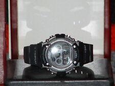 Pre-Owned Men's Black Nelsonic Nel605 Water Resist Rubber Band Quartz Watch