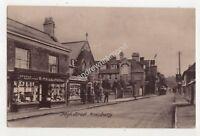High Street Amesbury Wiltshire Vintage Postcard Hale 694b