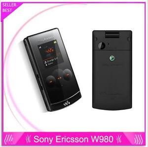 W980i Original Sony Ericsson W980 FM JAVA Bluetooth 3.15MP Unlocked Mobile Phone