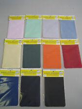 2 Stück Bügelflicken Bügel Flicken 100%Baumwolle 10x15cm Aufbügler v.Farben*****