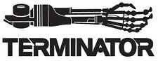 Terminator 04 T-800 Bras Voiture Autocollant Vinyle Autocollant 20 cm x 7 cm
