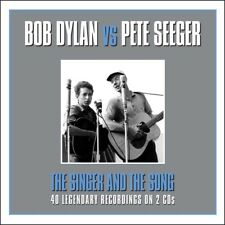 BOB DYLAN VS PETE SEEGER - THE SINGER AND THE SONG 2CD