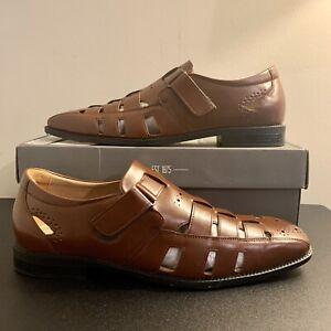Stacy Adams CALAX (Men's Size 12) Cognac 25345