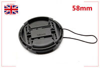 Camera Front Lens Cap Cover 58mm For Nikon as LC-58 fit 50mm 1.8g