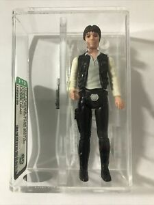 Star Wars Vintage Han Solo Large Head AFA 80 NM