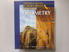 Math high school hardcover textbooks educational books ebay holt mcdougal larson geometry california teachers edition 2007 12k fandeluxe Choice Image
