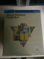 """Xerox Ventura Publisher 2.0 New Sealed 5.25"""" Discs and Manuals Extremely Rare!!!"""
