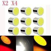 2/4x 1156 BA15S P21W LED Car LED 1156 Brake Lamp Warning COB 12 SMD 12V Bulb