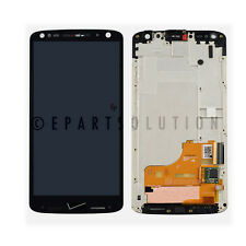 Black Motorola Droid Turbo 2 XT1585 LCD Digitizer Touch Screen + Frame Assembly