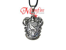 HARRY POTTER RAVENCLAW HOUSE CREST PENDANT NECKLACE INTELLIGENT CREATIVE WITTY