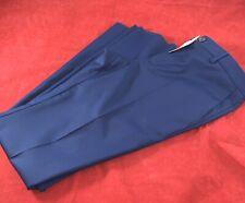 """BNWT PAUL SMITH Men Slim 100% Wool Un-tailored Blue Trousers W32"""" L   34"""""""