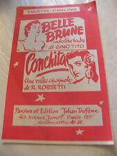 Partitura Belle Castaña Gino Tito Conchita R Rossetti Music Sheet
