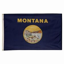 3x5 ft MONTANA Big Sky Country OFFICIAL STATE FLAG Outdoor Nylon MADE IN USA