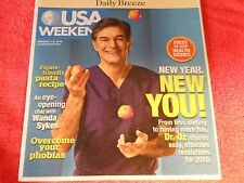 USA WEEKEND JAN 1-3 2010 NEW YOU WITH DR.OZ