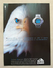 A997-Advertising Pubblicità-1999 - PRO TREK CASIO - OROLOGI