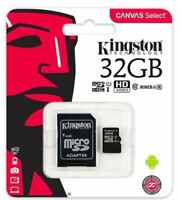 GENUINE KINGSTON 32GB CLASS 10 MICRO SD CARD AND ADAPTOR FOR NEXTBASE DASH CAM