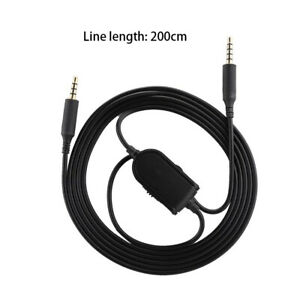 Replacement Audio Cable Cord for Astro A10 A40 Gaming Headset w/ Volume Control