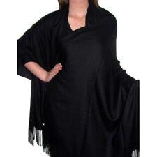 Fashion Women Winter Warm Cashmere Silk Solid Long Pashmina Shawl Wrap Scarf