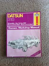 Haynes Repair Manual Datsun 310 1978-1982 Service Shop #679