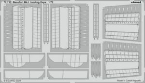 Eduard 1/72 Bristol Beaufort Mk.I Landing Flaps # 72712
