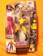 "Target exclusive WOLVERINE*Yellow !!!|Red Hulk series|Marvel Legends""6 figure #b"