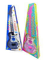 Musical Guitar Kids Electronic Educational Toy With Music & Light Toy Gift Uk