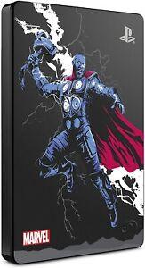 Playstation 4 External Game Drive 2TB Marvel Avengers Gamer Verse Thor BRAND NEW