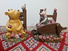 Disney Classic Winnie The Pooh With Piglet Book Ends