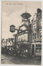 Surrey postcard - The Town Hall, Guildford