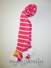 HANNA ANDERSSON Mix Lot Tights Zing Pink White Stripe Hearts 80 18-24 m 2T 2 NWT