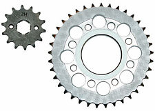 Honda CB100N chain sprocket set (1978-1987) 14t front, 37t rear - 428 pitch