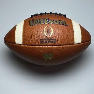 2019 Notre Dame Fighting Irish Authentic Game Ball - Wilson CFP NCAA Football