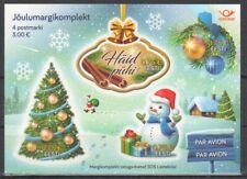 2017 Estonia Happy New Year! Merry Christmas! MNH