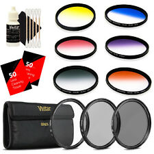 Vivitar 72mm Rotating Graduated 6pc Filter with Top Accessory Bundle