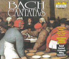 J.S.Bach - Cantatas (3-CD, Rilling, Ewerhart, Speiser, Galling u.a.)