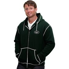 Pro Line New York Jets Retro Badge Hoodie Men's Sweatshirt New Size Small S NWT