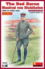 Miniart 1/16 The Red Baron Manfred von Richthofen WWI Flying Ace # 16032