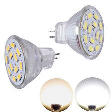 MR11 GU4 LED Spotlight lamp SMD Bulbs 2W 3W 4W Day Warm White Spot Light DC12V