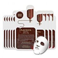 MEDIHEAL Placenta Revital Essential Mask Ex MaskSheet Pack Korea Cosmetic 10 pcs