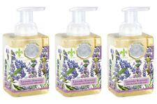 Set / 3 Michel Design Works Foaming Hand Soaps Paris Lavender Rosemary