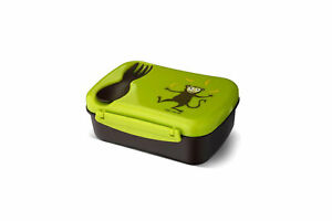 N'ice Box - Kinder Lunchbox Frühstücksdose mit Kühlakku Kita Schule Dose