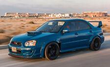 Subaru Impreza Hawkeye fender flares body kit