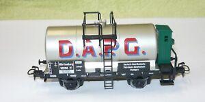 Märklin 8474, Württ. Mineralöl-Kesselwagen D.A.P.G.mit Brmhs., HAMO, H0, NEU&OVP