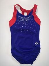 GK Adult Extra Small Red/blue Leotard