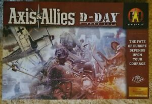 'Axis & Allies D-Day 6 JUNE 1944' (2004) COMPLETE/EUC RARE!