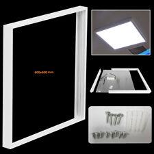 Surface Mount Frame Kit 600x600mm LED Panel Ceiling Aluminum White Finish S247