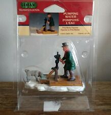 2003 Pumping Water 32712A Lemax Christmas Village Collection Accessory Figurine