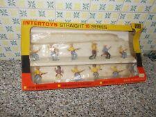 SCATOLA(BOX) INTERTOYS STRAIGHT 16 SERIES COW BOY TIPO SWOPPET TIMPO BARAVELLI