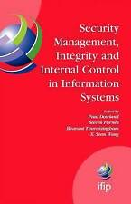 Security Management, Integrity, and Internal Control in Information Systems: IFI